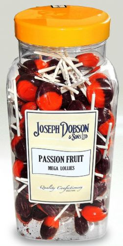 R137 DOBSONS PASSION FRUIT LOLLY  1x90